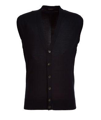 Ermenegildo Zegna Button-Up Wool Vest