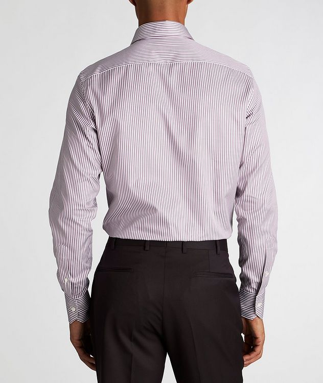Slim Fit Striped Trofeo-Cotton Dress Shirt picture 3