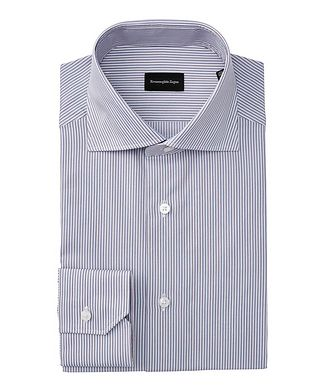 Ermenegildo Zegna Slim Fit Striped Dress Shirt