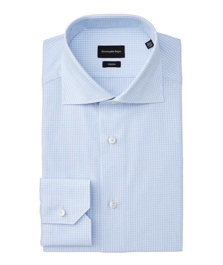 Slim Fit Checked Trofeo Dress Shirt image 0