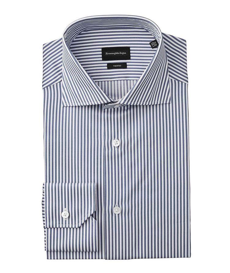 Slim Fit Striped Trofeo Dress Shirt image 0