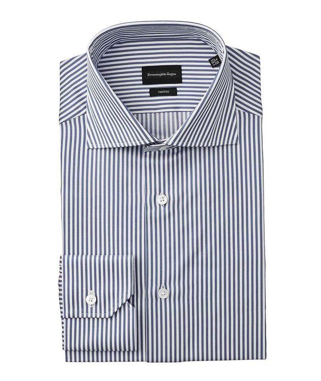 Slim Fit Striped Trofeo Dress Shirt picture 1