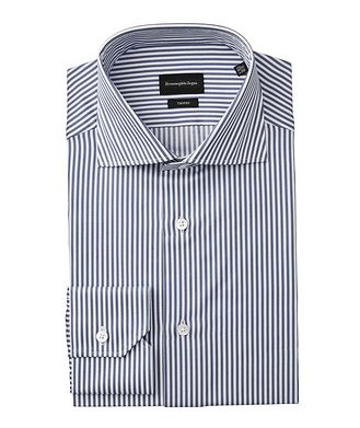 Ermenegildo Zegna Slim Fit Striped Trofeo Dress Shirt