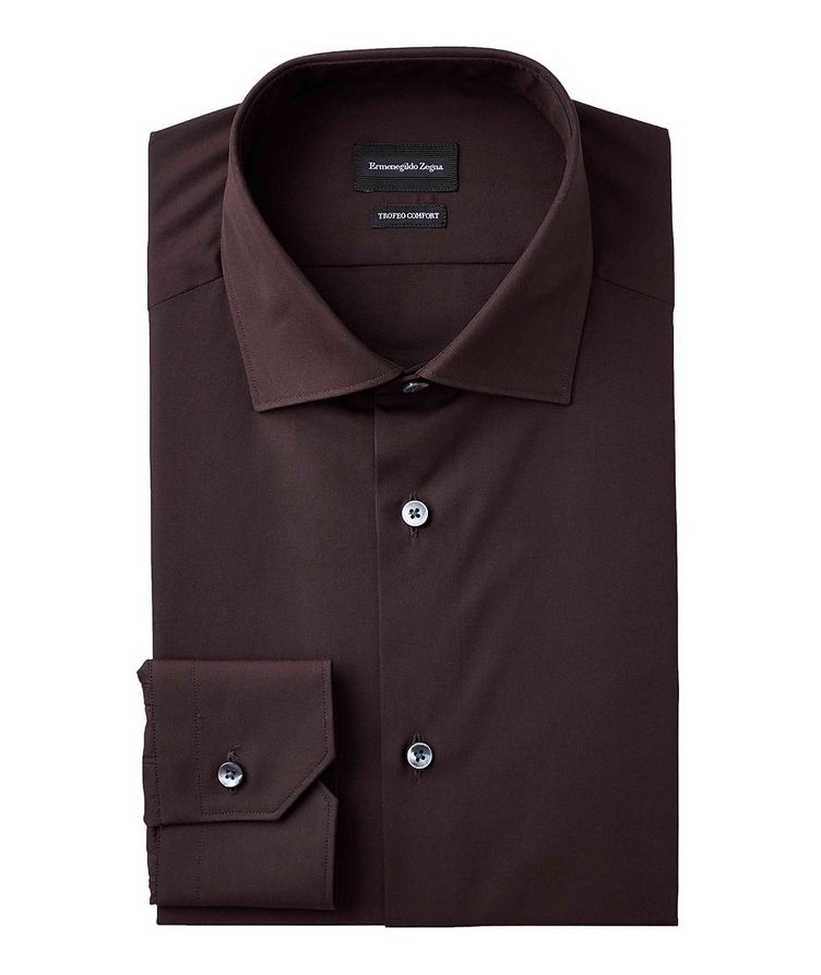 Slim Fit Trofeo Cotton Dress Shirt image 0