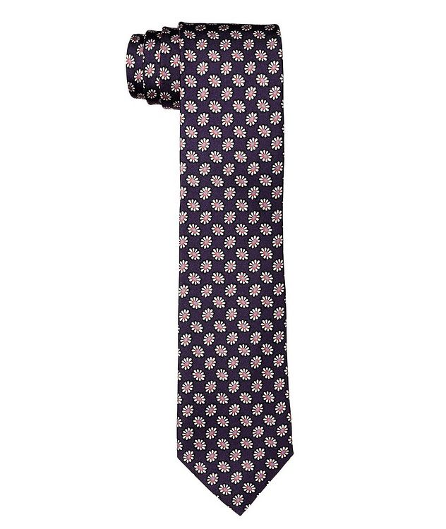 Botanical Printed Silk Tie picture 1