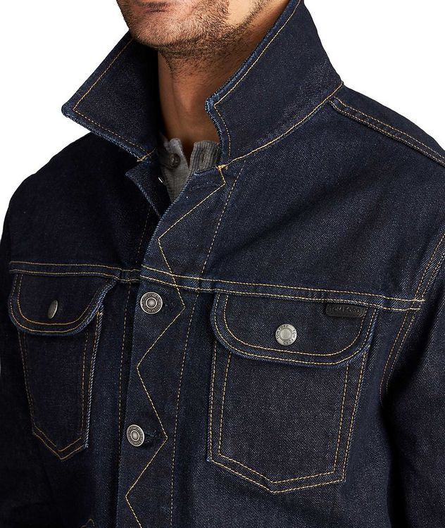 Denim Trucker Jacket picture 3
