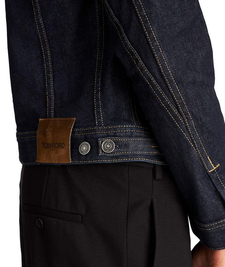 Denim Trucker Jacket image 3