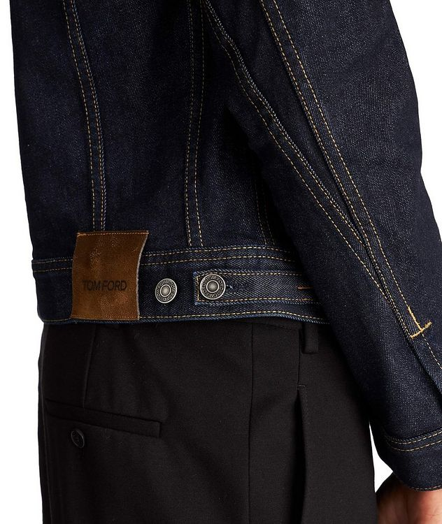 Denim Trucker Jacket picture 4
