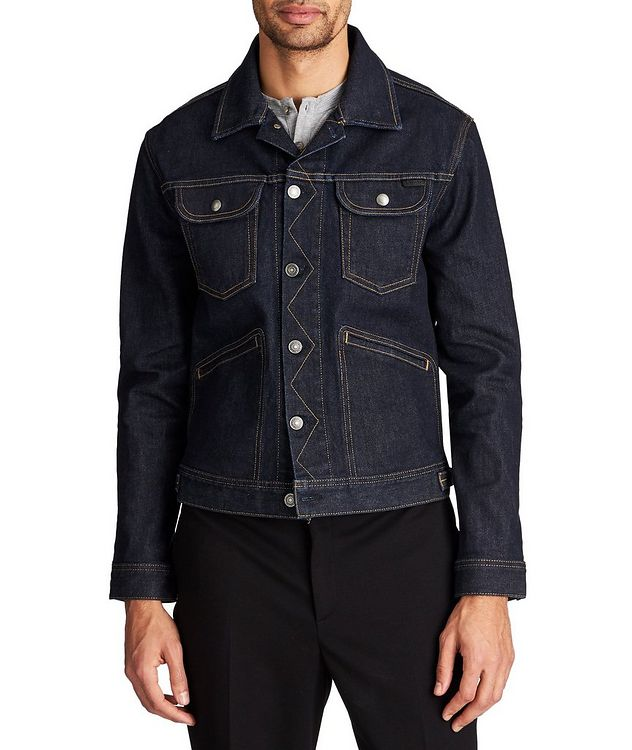 Denim Trucker Jacket picture 1