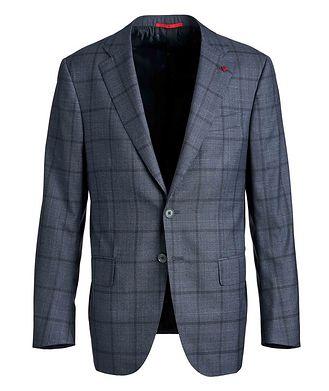 Isaia Sanita Checked Suit