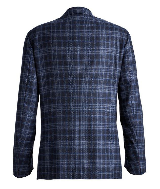 Checked Cashmere Sports Jacket picture 2