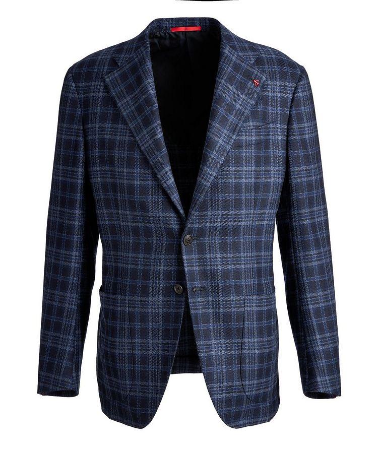 Checked Cashmere Sports Jacket image 0