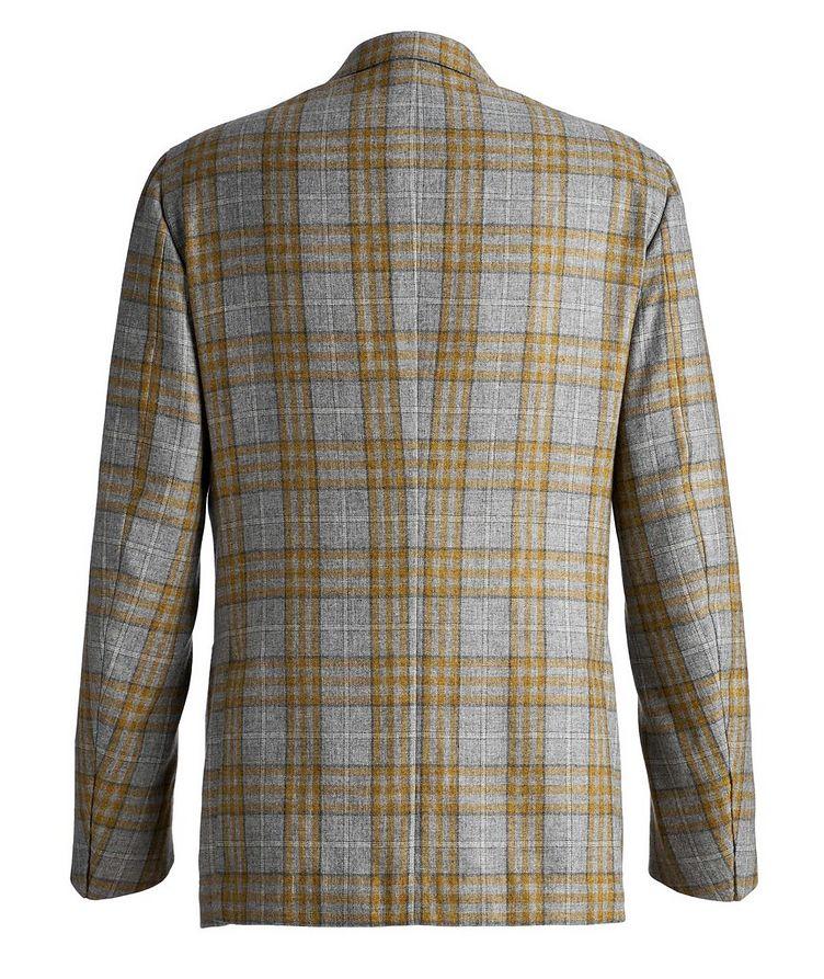 Plaid Cashmere-Silk Sports Jacket image 1