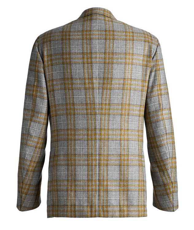 Plaid Cashmere-Silk Sports Jacket picture 2
