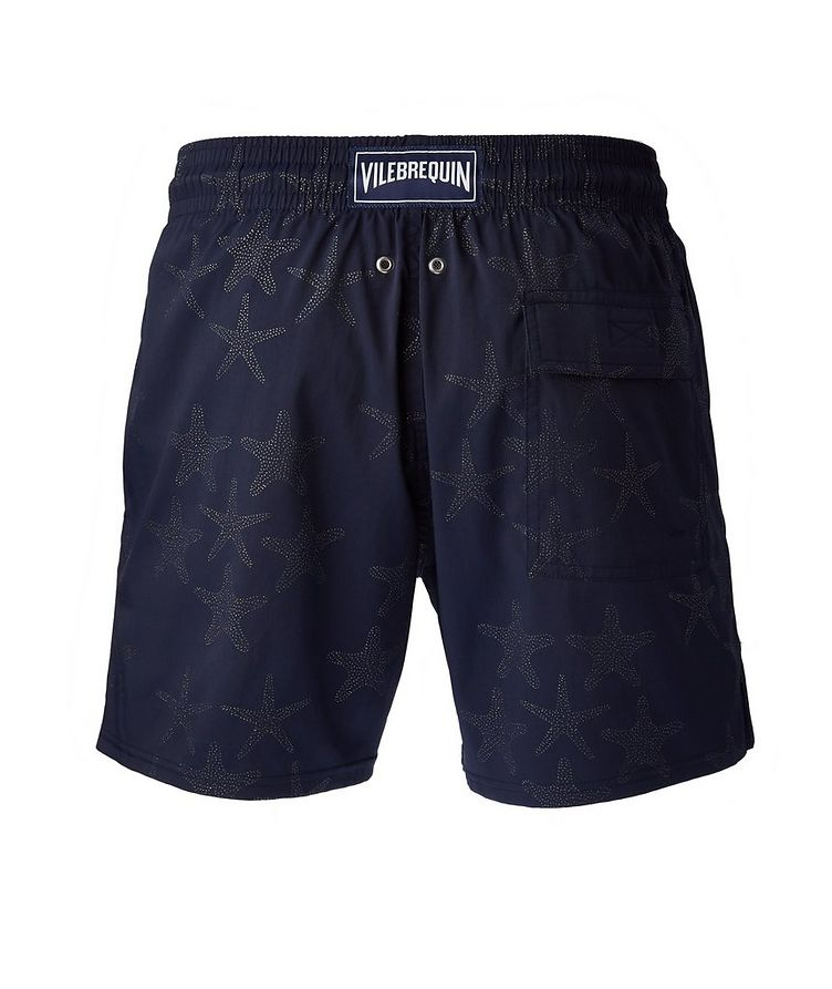 Printed Swim Trunks image 1