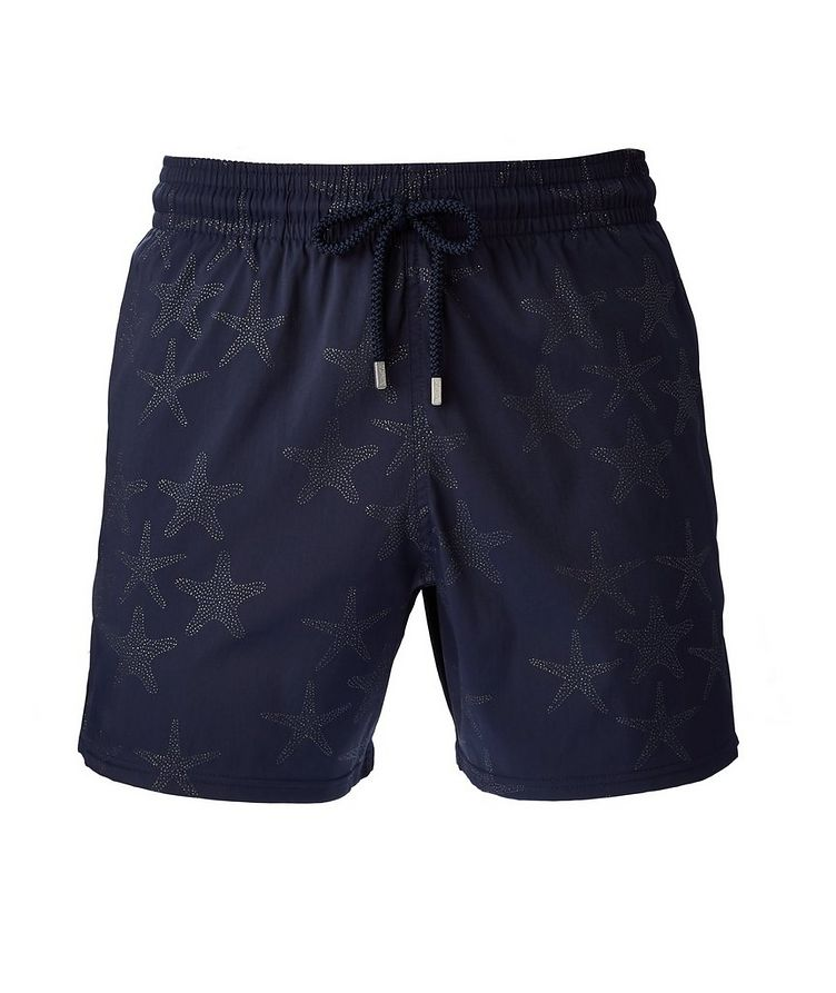 Printed Swim Trunks image 0