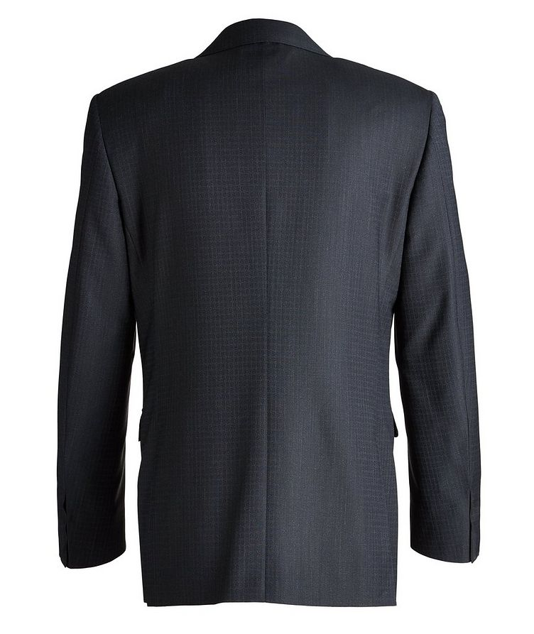 Slim-Fit Checked Wool Suit image 1