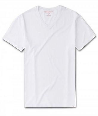 Derek Rose Resort V-Neck Cotton T-Shirt