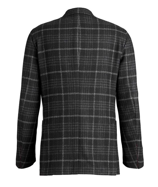 Checked Wool Cashmere Sports Jacket picture 2