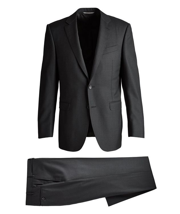 Slim-Fit Exclusive Wool Suit picture 1