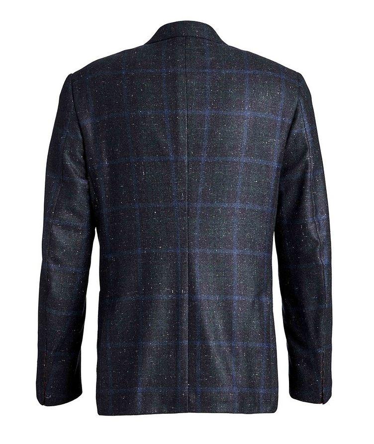 Windowpane Checked Cashmere Silk  Sports Jacket image 1