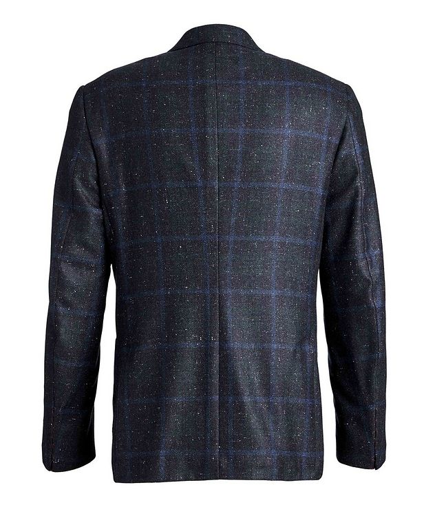 Windowpane Checked Cashmere Silk  Sports Jacket picture 2