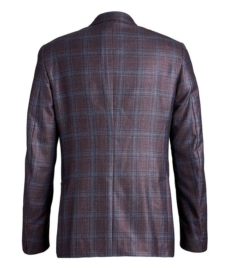 Checked Silk Cashmere Sports Jacket image 1