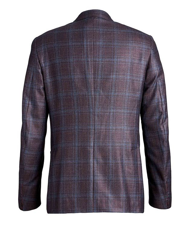 Checked Silk Cashmere Sports Jacket picture 2