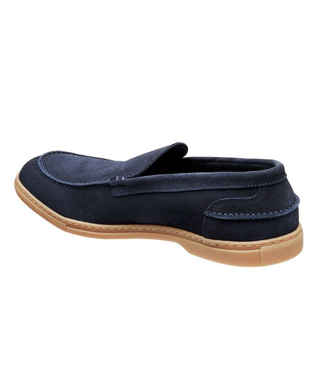 Flex Suede Venetian Loafers picture 2