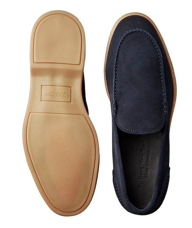 Flex Suede Venetian Loafers picture 3