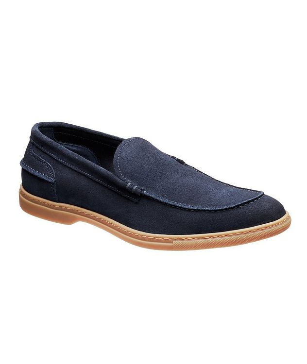Flex Suede Venetian Loafers picture 1