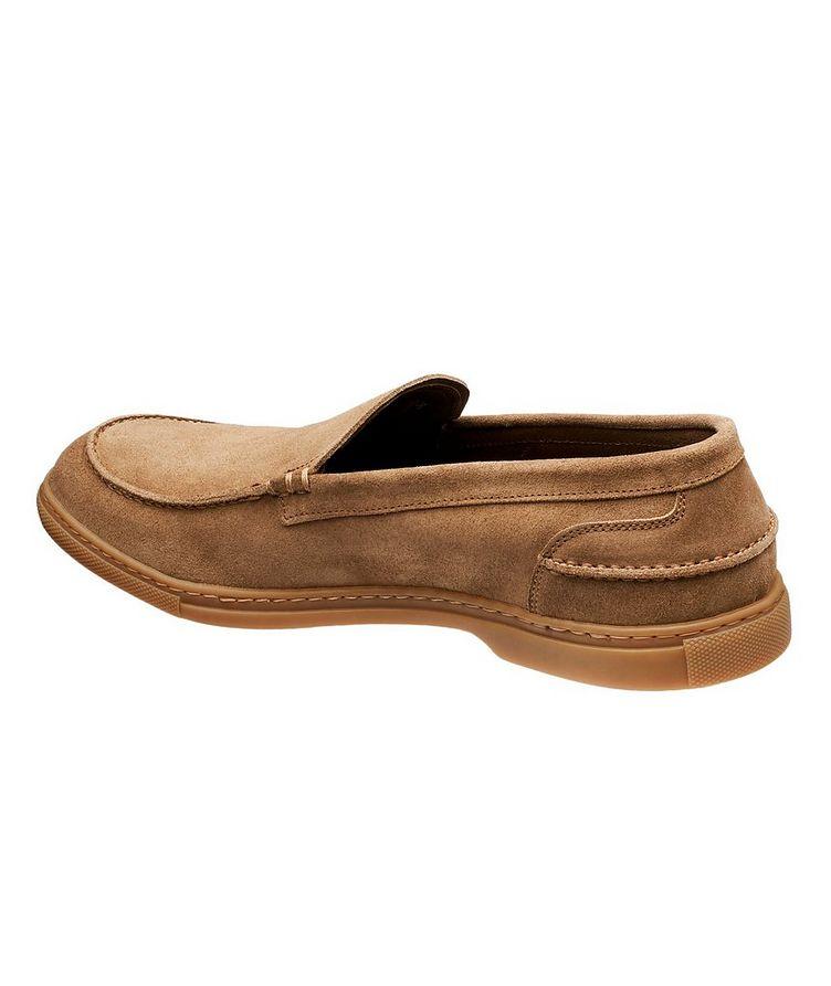Flex Suede Venetian Loafers image 1