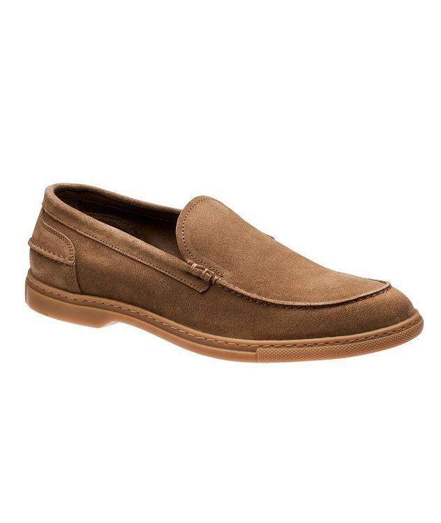 Flex Suede Venetian Loafers picture 1