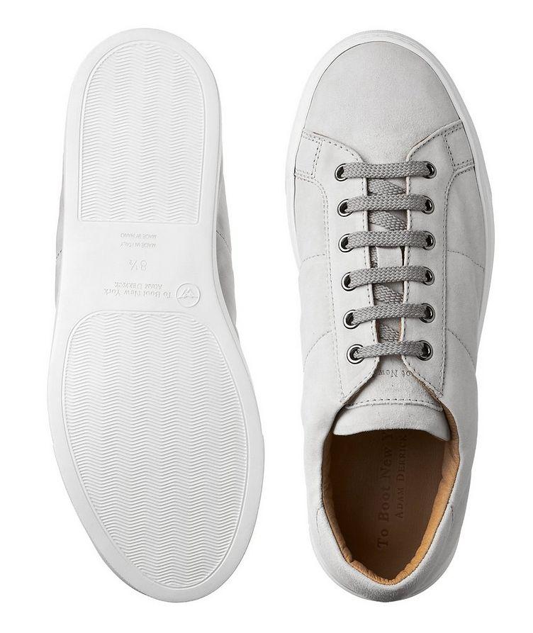 Chaussure sport en suède image 2
