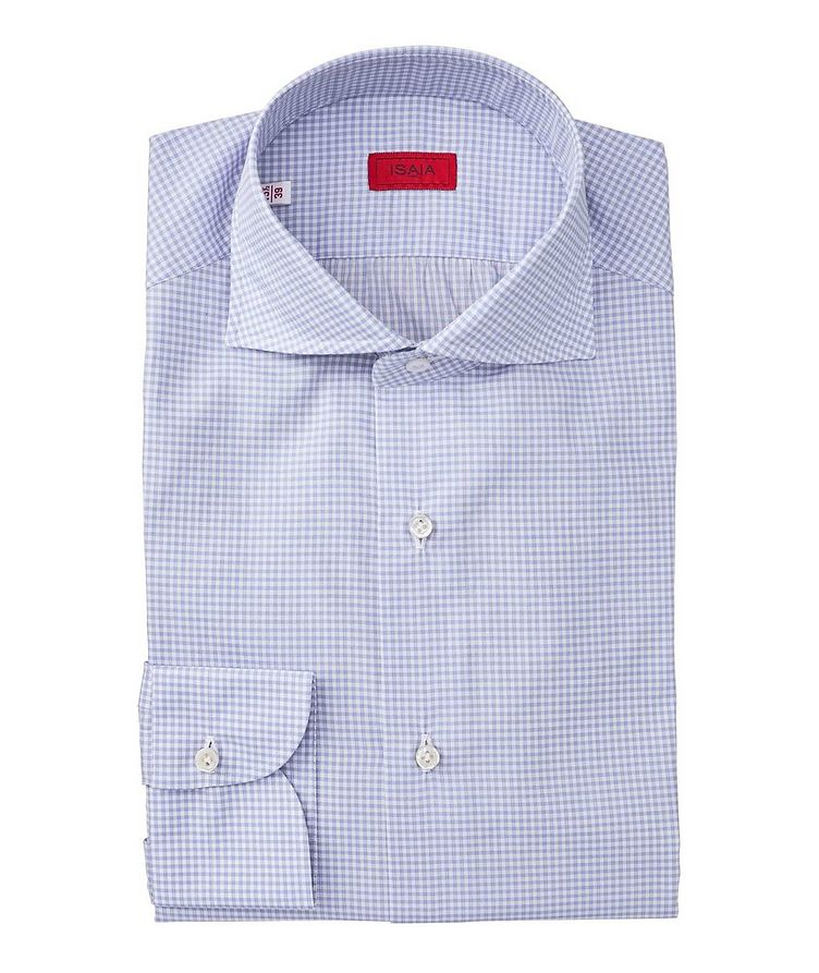 Contemporary Fit Checkered Dress Shirt image 0