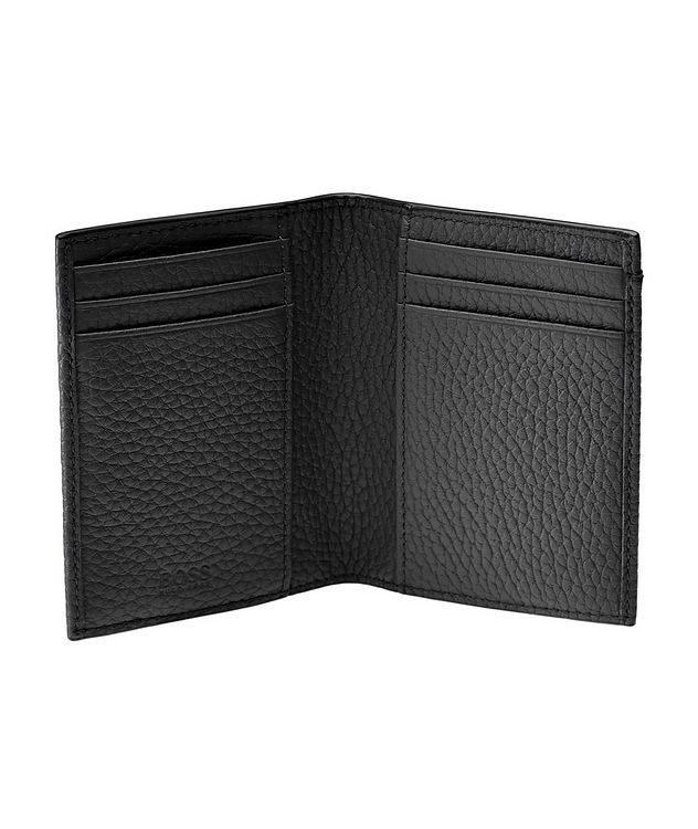 Crosstown Tumbled Leather Money Clip Bifold picture 3