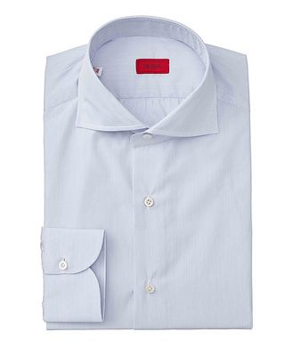 Isaia Contemporary Fit Striped Dress Shirt