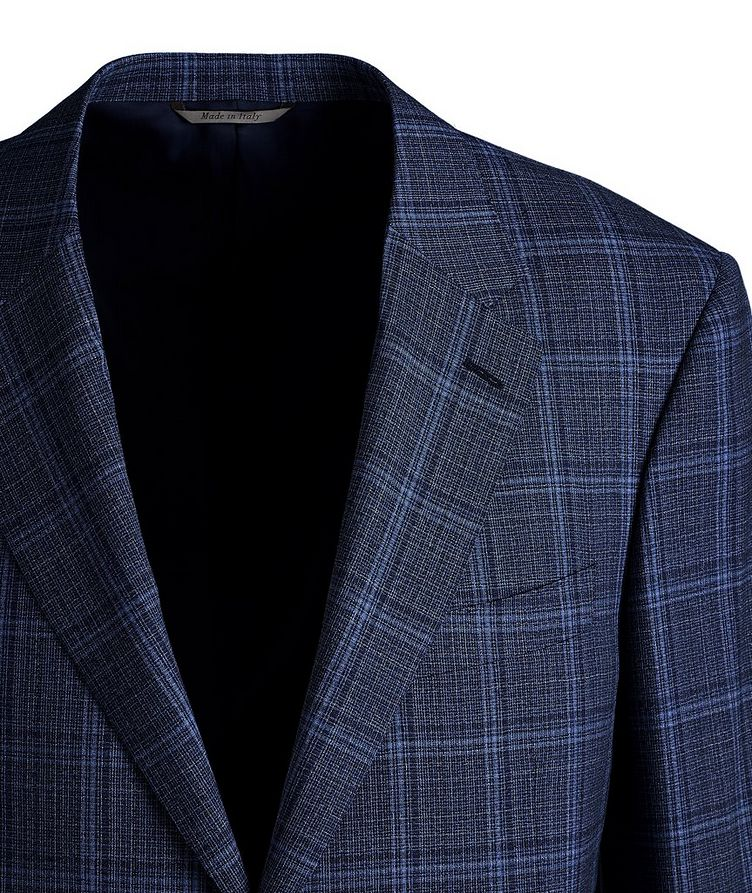 Travel Checked Wool Sports Jacket image 1