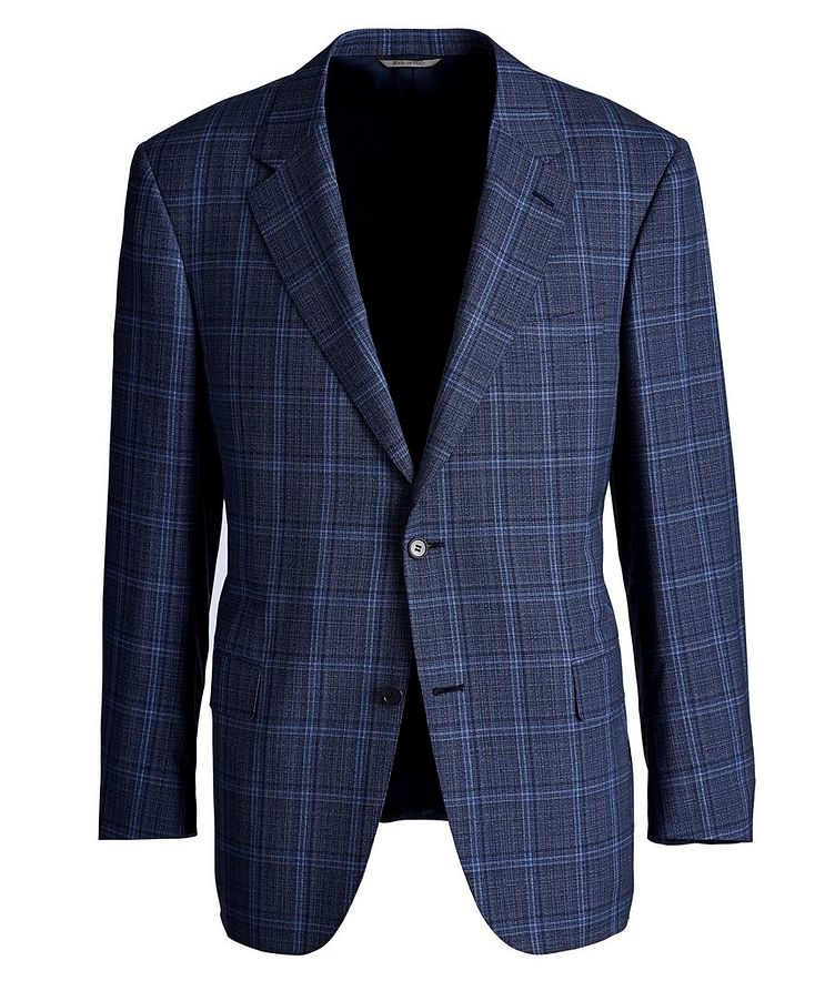 Travel Checked Wool Sports Jacket image 0