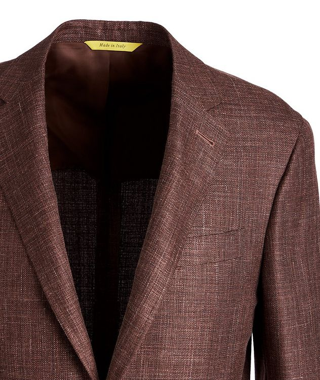 Kei Wool, Silk, and Linen Sports Jacket picture 2
