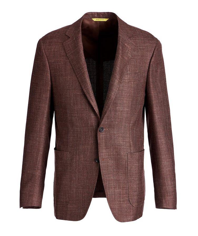 Kei Wool, Silk, and Linen Sports Jacket image 0