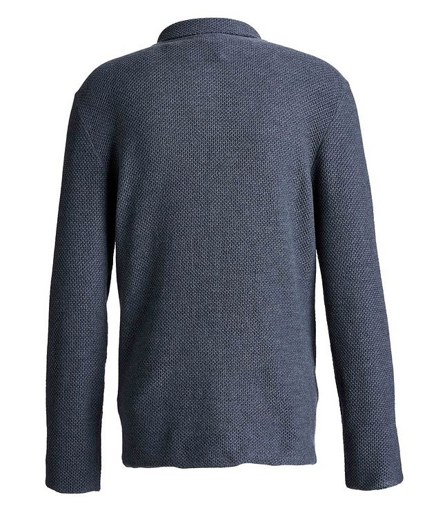 Wool-Knit Sweater Cardigan picture 2