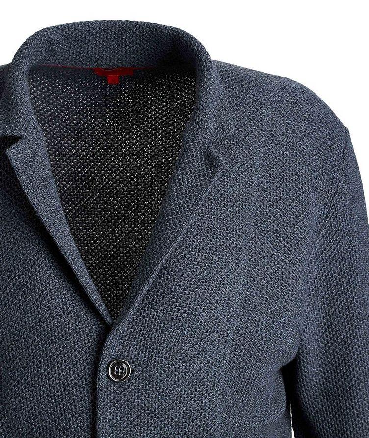 Wool-Knit Sweater Cardigan image 2