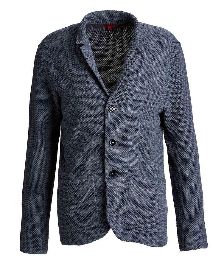 Wool-Knit Sweater Cardigan image 0