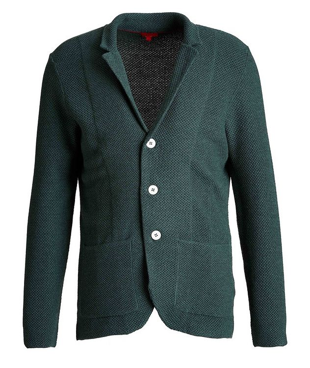 Wool-Knit Sweater Cardigan picture 1