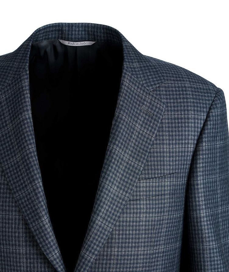 Checked Silk-Wool Sports Jacket image 1