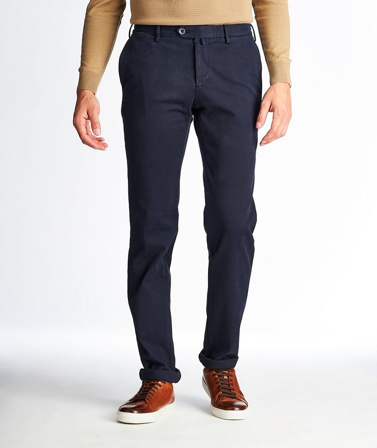 Stretch Cotton Chinos image 0