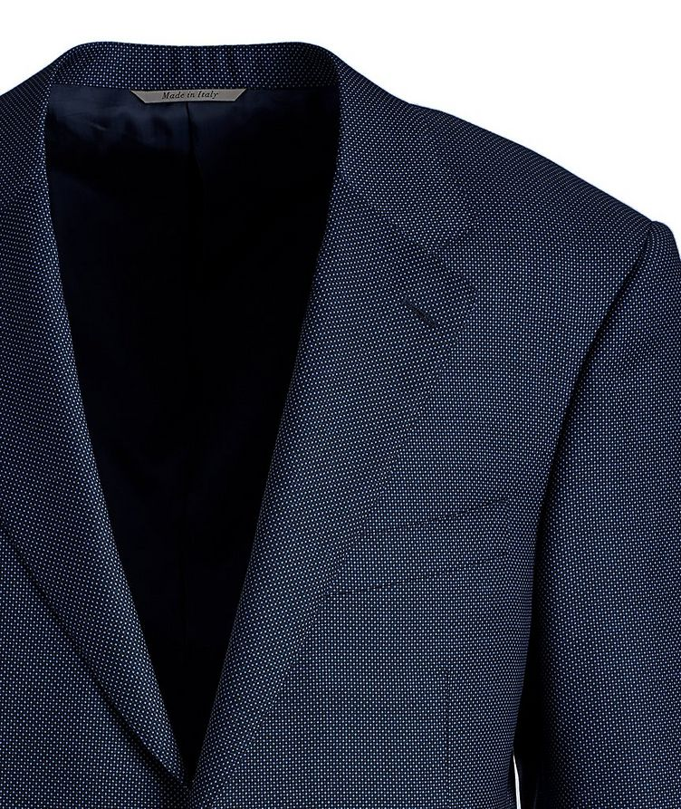 Bird's Eye Wool Sports Jacket image 1