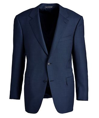 Canali Bird's Eye Wool Sports Jacket