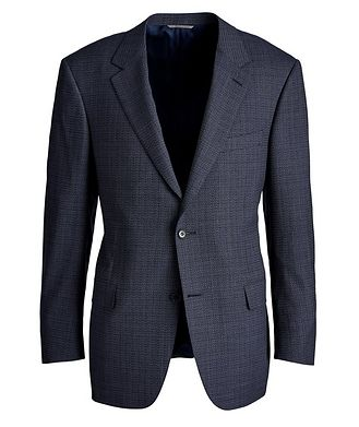 Canali Travel Wool Sports Jacket